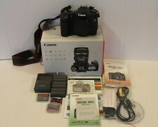 CANON EOS 40D DSLR BODY ONLY AND EXTRA BATTERIES & CF CARDS  SUPER CLEAN