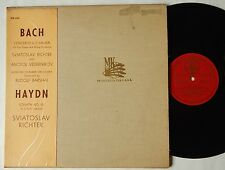 Sviatoslav Richter / Vedernikov BACH Concerto for Two Pianos Melodiya MK 1569 LP