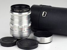 TRIOPLAN  2.8/100  EXA mount Meyer Optik - Görlitz CAPS CASE