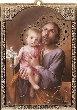 SAINT ANTHONY FRIDGE MAGNET OR HANGING PLAQUE - STATUES CANDLES PICTURES LISTED