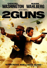 2 Guns by Denzel Washington, Mark Wahlberg Rental Exclusive L@@K Free Shipping!!