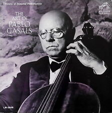 PABLO CASALS / The Art of Pablo Casals / RCA Shaded-Dog LM-2699, 11S/11S