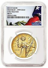 2015 American Liberty High Relief NGC MS-69 Early Releases - SKU #92052