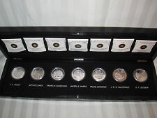 2012-13 Canada Silver Set of 7 'Group of Seven' Proof $20 1oz Coins & Case