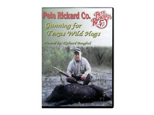 PETE RICKARD - NEW GUNNING FOR TEXAS WILD HOGS HUNTING DVD