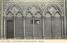 La Sainte Chappelle Oratoire de Louis XI Paris France Postcard