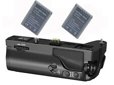 Battery Grip + 2x BLN-1 Li-ion Battery for Olympus OM-D E-M1 OMD EM1 as HLD-7