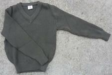 Army Sweater French V Neck
