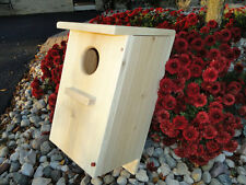 Screech Owl / Kestrel Nest Box, White cedar