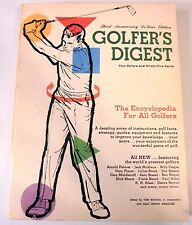 Golfer's Digest 3rd Anniversary DeLuxe Edition  1968