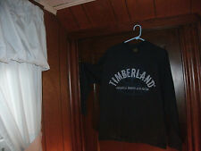 timberland t-shirt navyblue L/S BOOTS AND GEAR size medium brand new