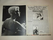 Martine Carol Maryse Mourer William Shatner Star Trek clippings France French