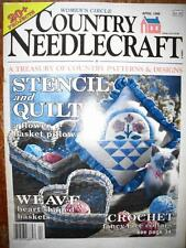 Country Needlecraft Magazine April 1989 Crafts 20+ Projects