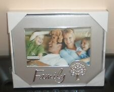 Malden Silver Family Picture Frame New