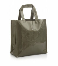HARRODS GREEN EMBOSSED LOGO DESIGN LIMITED EDITION SMALL TOTE BAG - LUXURY GIFT