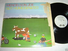 MENDELSON JOE Not Homogenized LP 1979 Boot Records Made in Canada VG+/GD