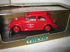 1.43 EARLY VITESSE VW BETTLE KRANKENWAGEN 1947 RED CROSS VOLKSWAGEN RARE