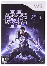 Star Wars: The Force Unleashed II 2 [Nintendo Wii Video Game LucasArts Disney]