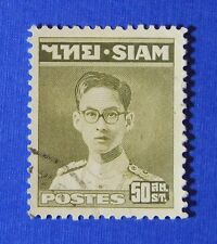 1949 THAILAND 50 SATANGS SCOTT# 267 MICHEL # 267 USED                    CS24272