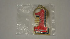 # 1 Grandpa Brass Key Ring Brand New In Original Packaging