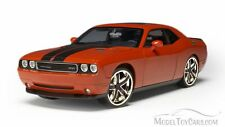DODGE CHALLENGER SRT8 1:24 Car Metal Model Die Cast Models Orange Jada