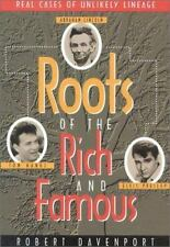 Roots of the Rich and Famous Davenport, Robert R. Paperback