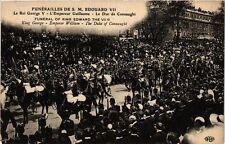 CPA PARIS Funérailles de S. M. Adouard VII George V, Duc (305447)