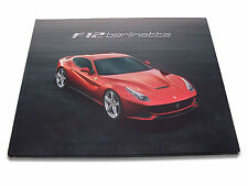 2012 FERRARI F12 BERLINETTA HARDCOVER PROSPEKT BROCHURE CATALOG IT/GB 4772/12