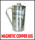 Original Magnetic Copper Jug with Lid-Slimming For Good Digestion Minerals Water