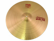 "Paiste 2002 24"" 'Reverend Al's Big Ride Cymbal - Excellent Used Condition"