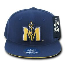 Blue Murray State University MSU Racers NCAA Flat Bill Snapback Baseball Hat Cap