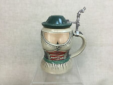 Vtg Original Gerz Figural West German Ceramic Beer Stein