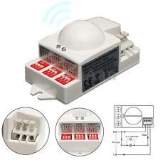 5.8GHz Micro-onde Radar Capteur Interrupteur Détecteur de Mouvement Pr LED Lampe