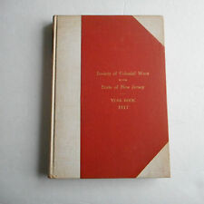 Society of Colonial Wars in the State of New Jersey 1917 Year book