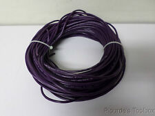 Approx. 100ft New Carol 18-AWG Purple Control Cable, Stranded Copper, 18TFF