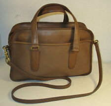 "COACH Vintage Tabac Leather ""Flight"" Handbag/Shoulder Bag - Refurbished - EVC"