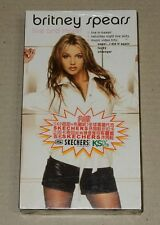 Britney Spears Live And More Taiwan Ltd Promo VHS Video RARE New Sealed Not CD