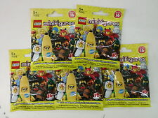 LEGO 71013 - SET 5 MINIFIGURES SERIE 16