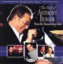 NEW--Anthony Burger - Best Of Anthony Burger (CD, 2006) GAITHER GOSPEL