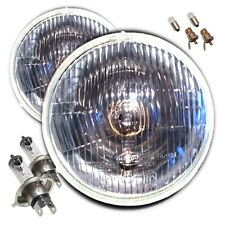 "Classic Car 7"" Sealed Beam Halogen Conversion Headlights Ford Triumph Austin"