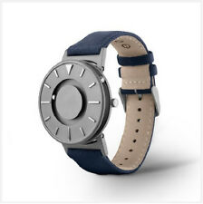 Eone Bradley Timepiece | Touchable Watch | Tactile Feel Time [Canvas Blue]