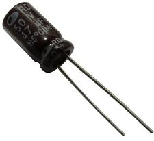 20x Condensateur électrolytique chimique 47µF 50V THT  1000h Ø6.3x11mm radial