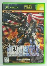 XBOX METAL WOLF CHAOS (NTSC-J) [Excellent!!]