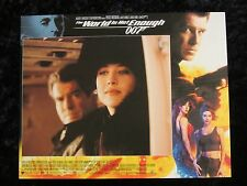 THE WORLD IS NOT ENOUGH lobby card #10 JAMES BOND 007, SOPHIE MARCEAU