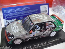 Fly  BMW M3 E30 Rally Islas Canarias 2014 1/32 Nuevo new Ref.  038105