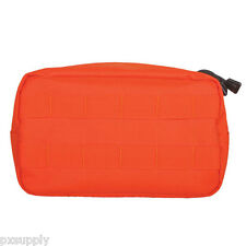 molle pouch tactical general purpose utility modular safety orange fox 56-202