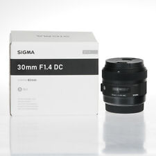 SIGMA ART 30MM F/1.4 DC HSM LENS FOR CANON MOUNT