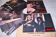 LE SOUS-SOL DE LA PEUR ! wes craven jeu 12 photos cinema lobby cards fantastique