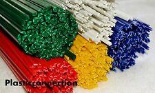 ABS Plastique baguettes de soudage 3, 4, 5mm, 30 pcs, mélange de couleurs