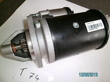 Massey Ferguson MF 3050 - 3075, motor de arranque, Starter, tractor remolcador retroexcavadoras
